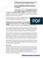 Declaración de Impacto Ambiental I.E. SAGRADO
