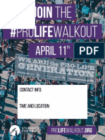 #ProLifeWalkout flyer 2