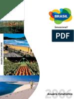 Anuario Estatistico de Turismo 2006