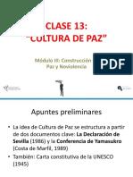 Diapositivas Cultura de Paz