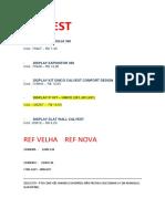 Calvest Novas Ref. e Giovana Dias