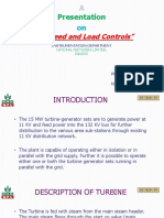 Turbine Speed & Load Control