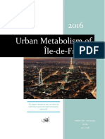 urban metabolism of paris- report
