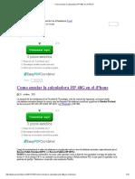 Como Emular La Calculadora HP 48G en El iPhone