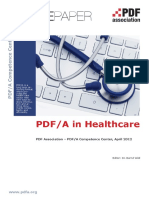 WP PDFA in Healthcare