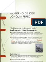 Gobierno de Jose Joaquin Perez