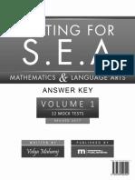 Testing for s.e.a. Mathematics Answer Key v2