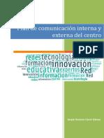 Plan de Comunicacion Interna y Externa Del Centro