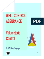 WC Assurance Session THREE (Vol WC)