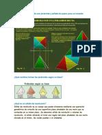 Dibuje El Desarrollo de Una Pirámide y Señale Los Pasos Para Su Trazado3