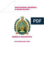 Unamad Modelo Educativo