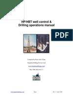 HPHBT 2004 Land-rig Drilling Manual