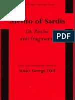 Melito of Sardis
