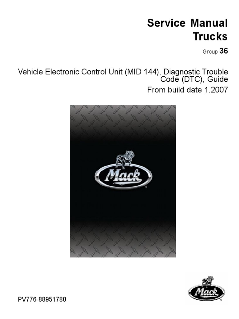 pv776 88951780 mid 144 pdf rh scribd com Service ManualsOnline Auto Repair Manual