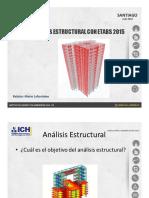 Análisis Estructural ETABS 2015