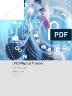 UFED Physical Analyzer v5.0 Manual March2016