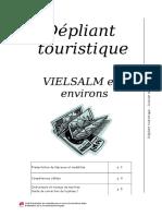 Outil d'Evaluation (12 Ans) - Depliant Touristique - Dossier Enseignant (Ressource 3609)