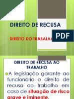 DIREITO DE RECUSA PPT.pptx