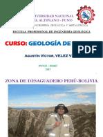 i. Introducción Geología de Campo i