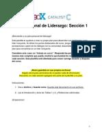 Plan Personal de Liderazgo Seccion 1