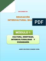 Módulo 1 Cultura Identidad Interculturalidad y Ciudadania