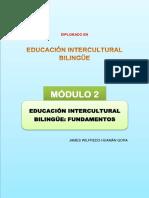 Modulo 2 Educación Intercultural Bilingüe