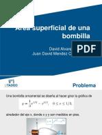 Área Superficial de Una Bombilla