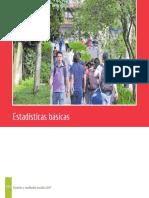 Balance Social 2017 Estadisticas Basicas