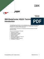 IBM Blade Center HS22V Technical Introduction