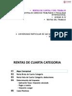 Unidad III-IV - Rtas Capital y Trab - Maestria Tributacion