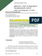 Fabrício (2017) Linguística Aplicada e Visão de Linguagem - Por Uma Indisciplinaridade Radical
