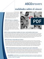 MITOS Y REALIDADES SOBRE EL CANCER