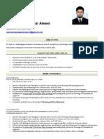 Abdul Aleem Cv - Updated Autocad 2017