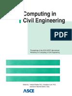 Computing in Civil Engineering Proceedings of the 2013 ASCE International Workshop on Computing in Civil Engineering June 23-25-2013 Los Angeles California