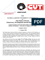 Call for Papers GLU 2018 Brazil