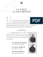 Medalla de San Benito y Explicacion