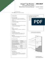 Integris Door Technical Information