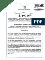 Decreto 2229 Del 27 de Diciembre de 2017