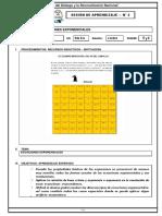 SESION DE APRENDIZAJE N 3    2DO SEC ECUACIONES EXPONENCIALES SEMANA 5 Y 6.docx