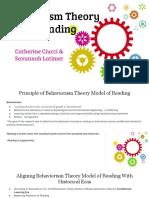 behaviorism theory 2f model of reading