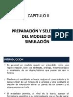 Capitulo II - Preparación y Selección Del Modelo de Simulación