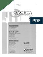 CDG - El Reglamento del Congreso y las atribuciones del Tribunal Constitucional (Gaceta, Febrero 2018)