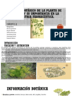 Botanica Farmaceutica y Fitofarmacia