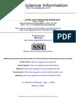 Social Identity and Intergroup Behaviour-tajfel