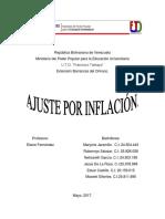 Ajuste Por Inflacion Maryoris
