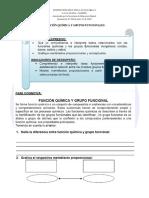 Funcion Quimica y Grupos Funcionales-1