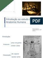 01 - Introdução Ao Estudo Da Anatomia - EnFERMAGEM