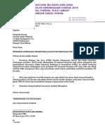 Surat Mohon Sumbangan LCD