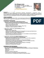 Frank Aliaga CV