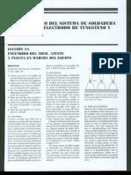 Cap 3 Funcionamiento Del Sistema de Soldadura Por Arco Con Electrodo de Tungsteno y Gas Inerte